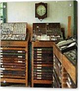 Print Shop Acrylic Print