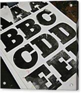 Printed Posters Acrylic Print by Tobias Titz