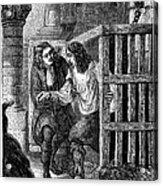 Prison: Cage, 17th Century Acrylic Print