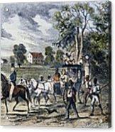 Pro-union South, 1862 Acrylic Print