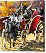 Proba Bull Cause Acrylic Print