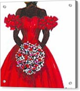Prom Queen Acrylic Print