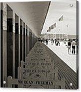 Promenade Des Planches Acrylic Print