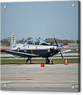 Propeller Plane Chicago Airplanes 10 Acrylic Print