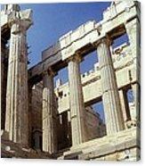 Propylaia Acropolis Acrylic Print