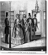 Prostitution, 1850 Acrylic Print
