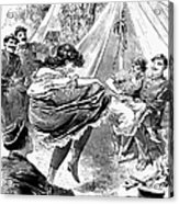Prostitution, 1895 Acrylic Print