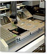Proteomic Pattern Analysis Acrylic Print