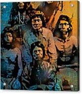 Proud Apache Scouts Acrylic Print