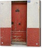Provence Door 13 Acrylic Print