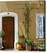 Provence Door 3 Acrylic Print by Lainie Wrightson