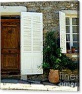 Provence Door Number 4 Acrylic Print