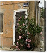 Provence Door Number 9 Acrylic Print