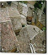 Provence Rooftops Acrylic Print