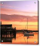 Provincetown Harbor Before Sunrise Acrylic Print