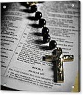 Psalm 107 Acrylic Print