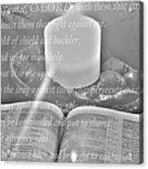 Psalm 35 Acrylic Print