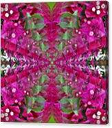 Psychadelic Flower Acrylic Print