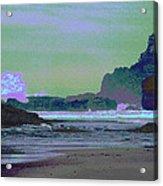 Psychedelic Splash Acrylic Print