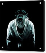 Psychiatric Patient Acrylic Print by Kevin Curtis