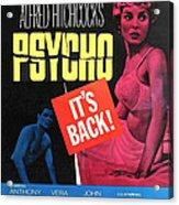 Psycho, Top Left Anthony Perkins Top Acrylic Print