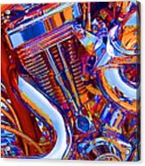 Psychodelic Chopper-1 Acrylic Print