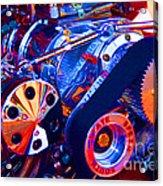 Psychodelic Supercharger-1 Acrylic Print