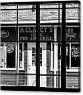 pub Acrylic Print