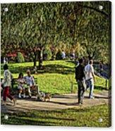 Public Garden 11 Acrylic Print