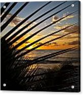 Puerto Rican Sunset IIi Acrylic Print by Tim Fitzwater