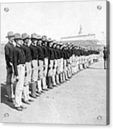 Puerto Ricans Serving In The American Colonial Army - C 1899 Acrylic Print