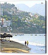 Puerto Vallarta Beach Acrylic Print
