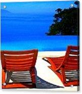 Puerto Vallarta Pool Acrylic Print