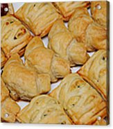 Puff Pastry Party Tray Acrylic Print