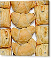 Puff Pastry Party Tray Pano Acrylic Print