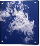 Pulled Cotton Clouds Acrylic Print