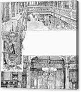 Pullman: Arcade, C1885 Acrylic Print