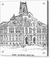Pullman: Schoolhouse Acrylic Print