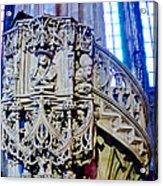 Pulpit St Stephens - Vienna Acrylic Print