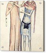 Pulse Measurement, 14th Century Artwork Acrylic Print