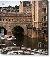Pulteney Bridge Acrylic Print