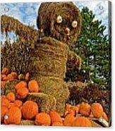 Pumpkin King Acrylic Print