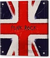 Punk Rock Acrylic Print