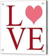 Pure Love Acrylic Print