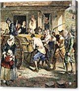 Puritans: Punishment, 1670s Acrylic Print