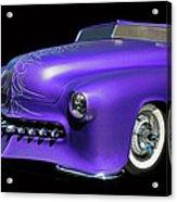 Purple Customized Acrylic Print