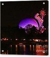 Purple Epcot Acrylic Print