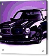 Purple Firebird Acrylic Print