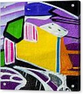Purple For You Acrylic Print
