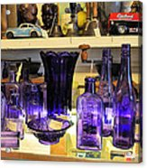 Purple Glass Collection Acrylic Print